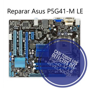 Fallas en placa base Asus